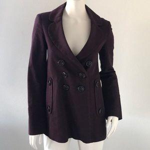Kenzo Purple Double Breasted Blazer Mod size 36